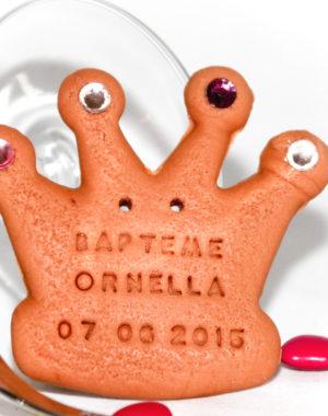 couronne princesse baptême naissance prénom