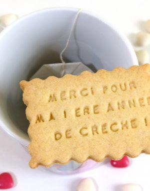 biscuit sablé personnalisé