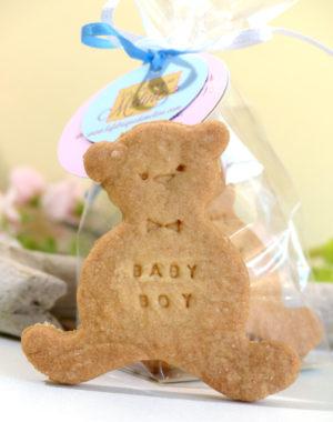 biscuit nounours personnalisé