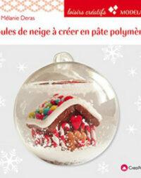 """""""Boule de neige à créer en pâte polymère"""""""