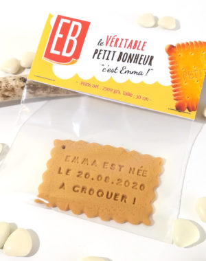 "Biscuit ""emballé"""