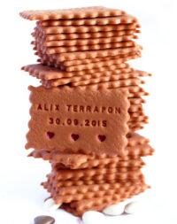 * Biscuit Croqué & confiture