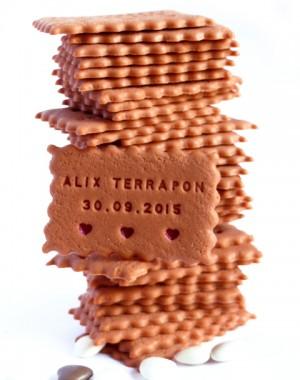 biscuit personnalisé naissance faire-part
