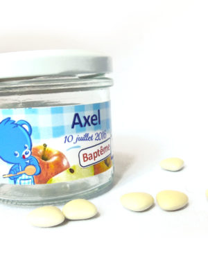 """Petit pot personnalisé """"Nestlait"""""""