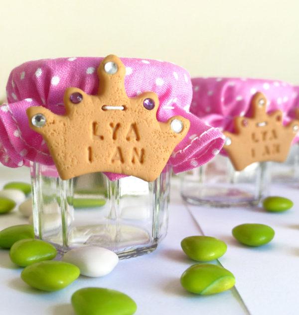 Petit pot de drag es biscuit couronne de princesse la - Princesse meline ...
