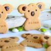 biscuit personnalisé baptême koala, aimant, cadeau invité