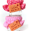 petit pot dragée bébé, biscuit personnalisé