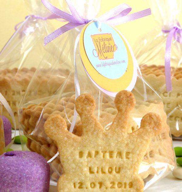 Biscuit couronne de princesse personnaliser et d guster - Princesse meline ...
