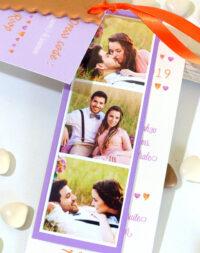 """Faire-part mariage """"biscuit personnalisé"""" & étiquettes"""
