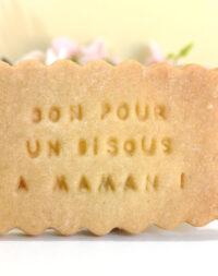 """Biscuits sablés """"10 messages pour une naissance"""" !"""