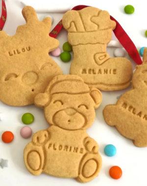 """MARQUE-PLACE """"biscuit sablé de Noël"""""""
