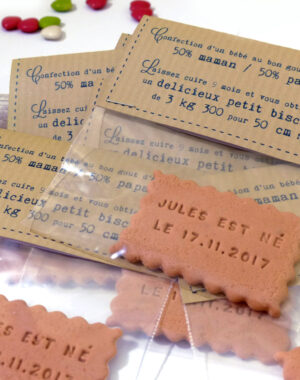 "Faire-part ""sachet kraft"""