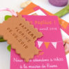 faire-part bapteme biscuit gourmand