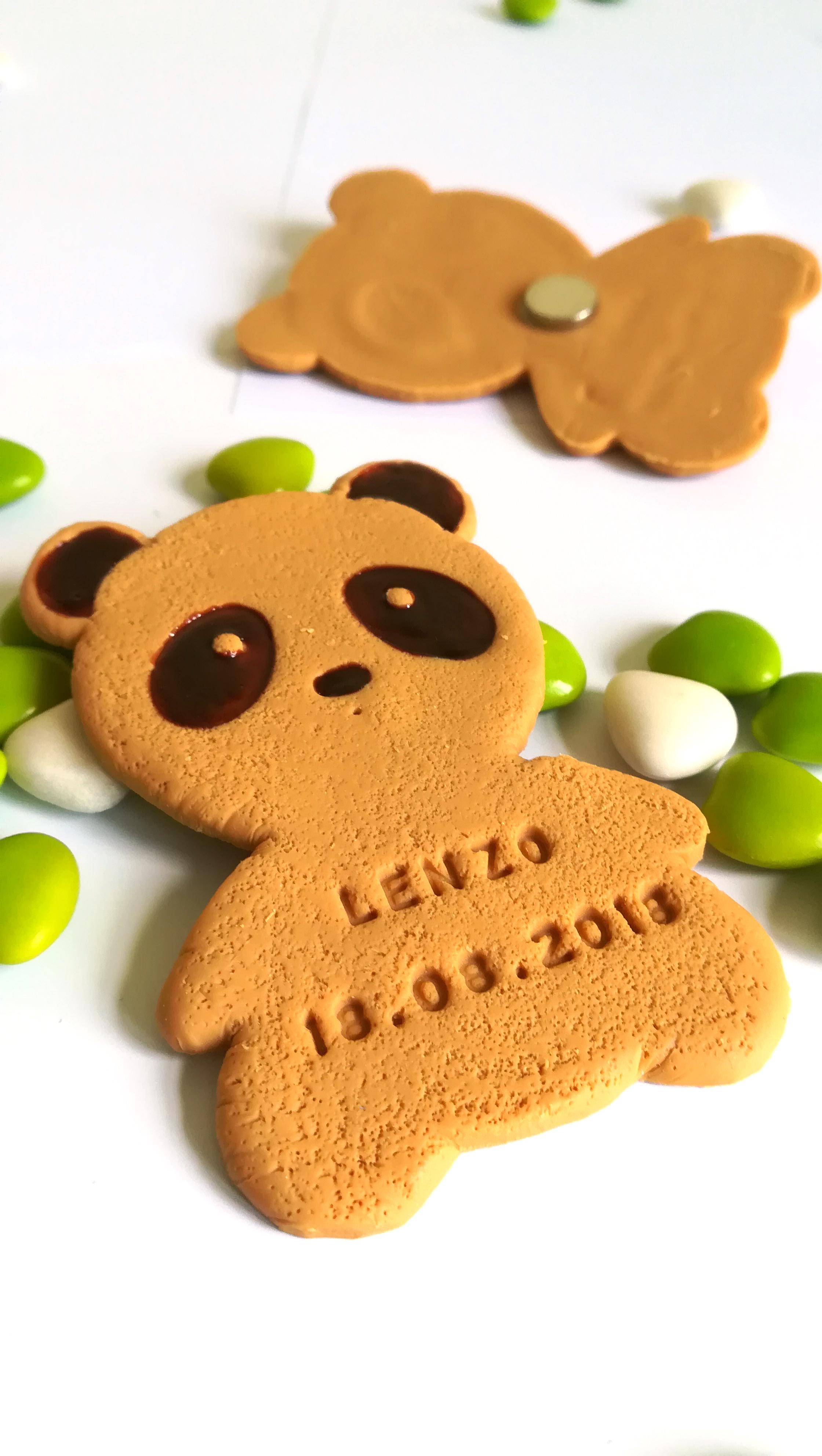 cadeau invité panda, déco panda, dragées panda
