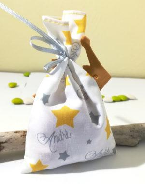 """Sachet de dragées, couronne """"petit prince"""""""