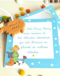 """Remerciements, thème """"petit prince"""""""