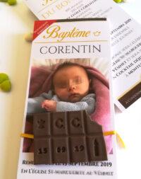 "Faire-part ""chocolat"""