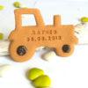 biscuit tracteur bapteme