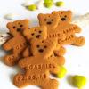 biscuit ourson texet personnalisé