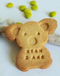 """Biscuit sablé """"koala"""" à personnaliser"""