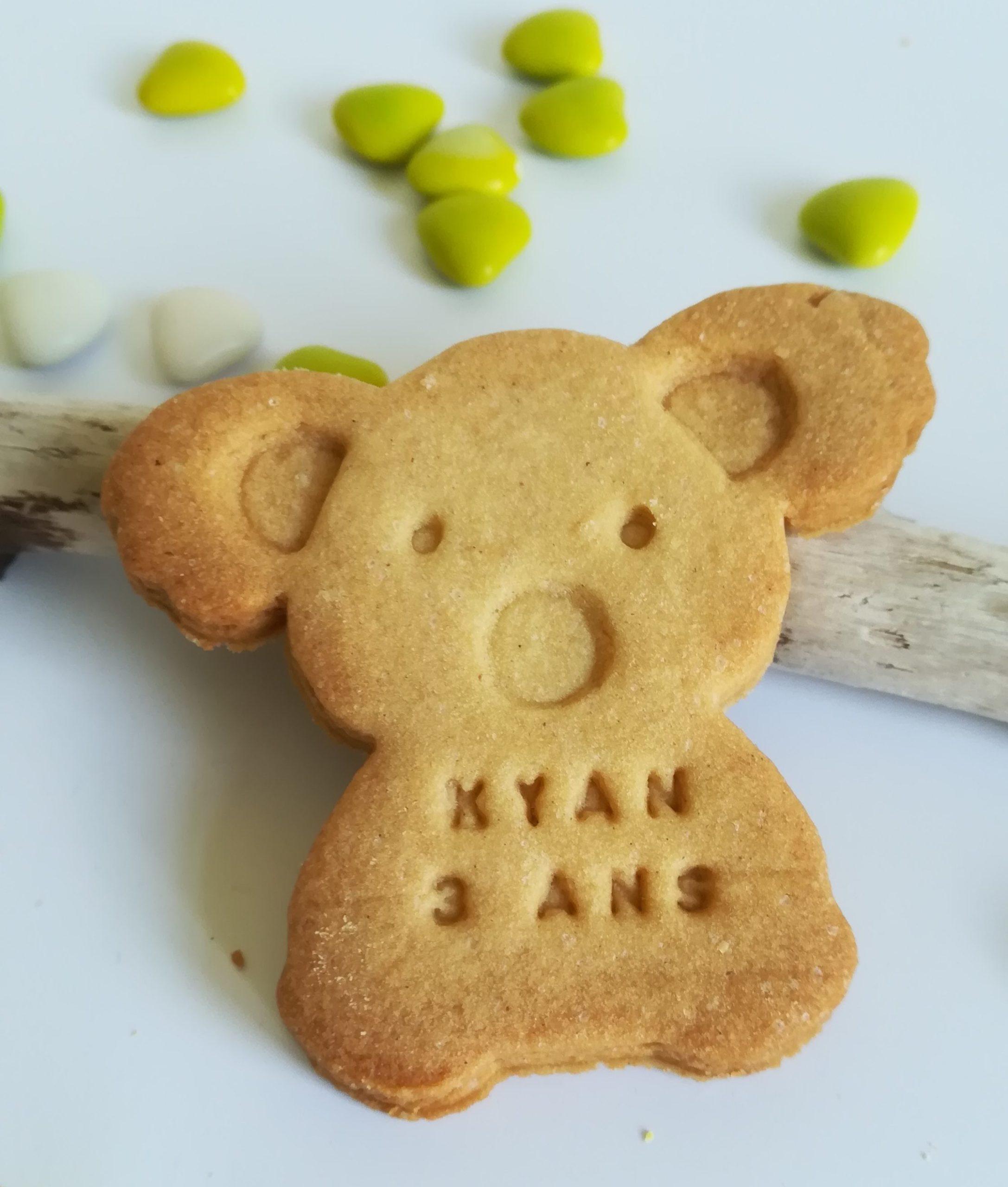 biscuit personnalisé koala