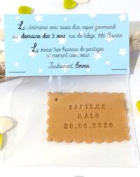"Faire-part ""sachet gourmandise"", garçon"