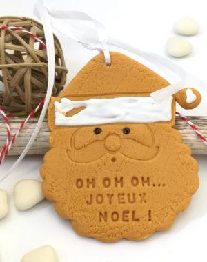Père-Noël, suspension de sapin personnalisée