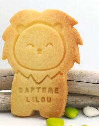 """Biscuit sablé """"Lion"""" à personnaliser"""