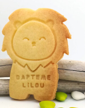 biscuit-lion-personnalise-vegan