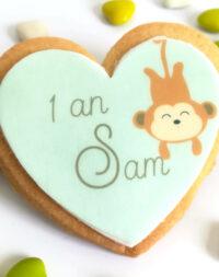 Biscuit personnalisé Singe