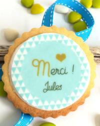 """Biscuit personnalisé """"motif géométrique"""""""