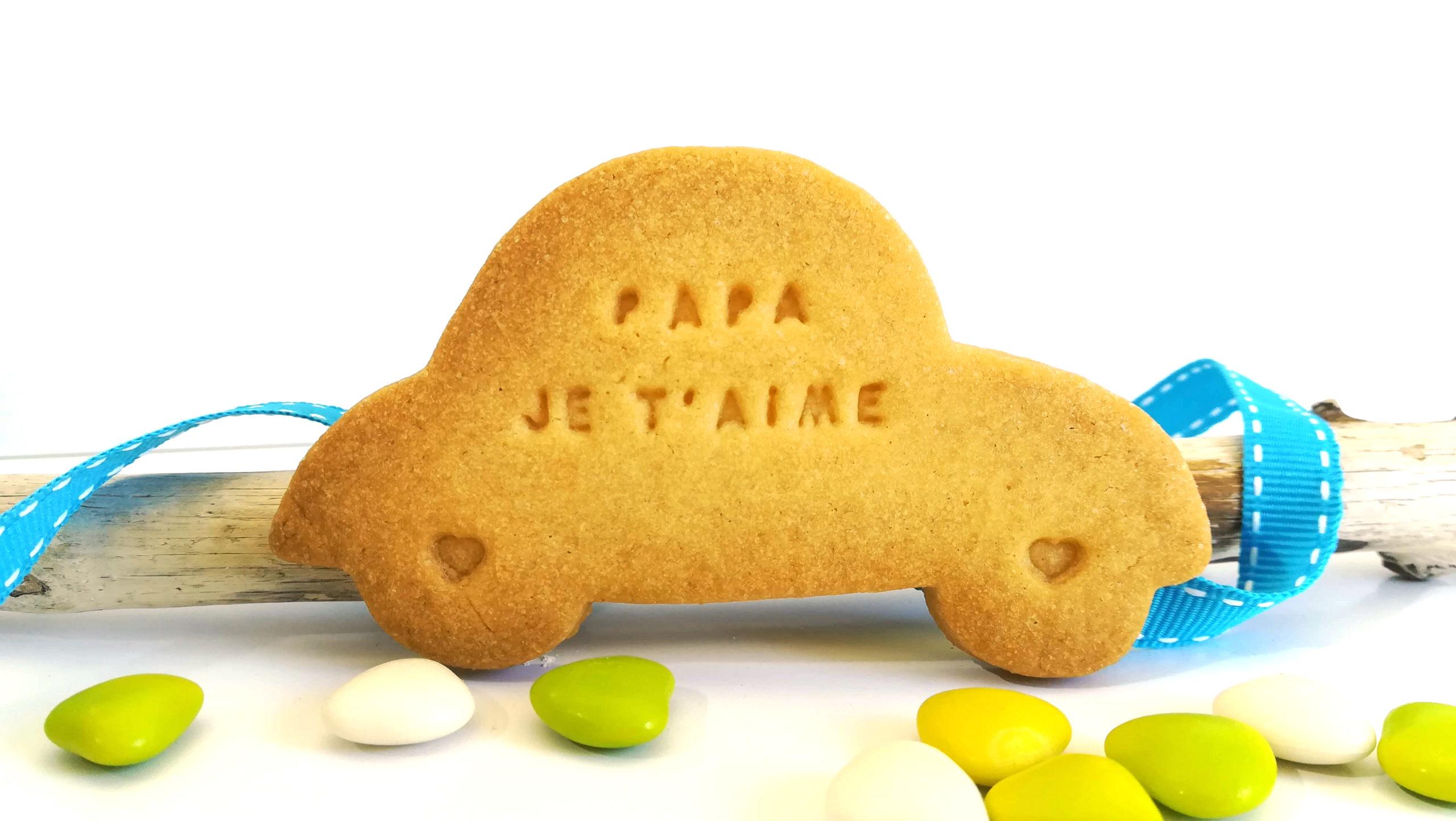 biscuit-sablé-voiture-cadeau-fete-pere