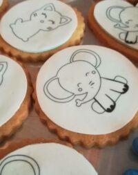 Biscuits à colorier