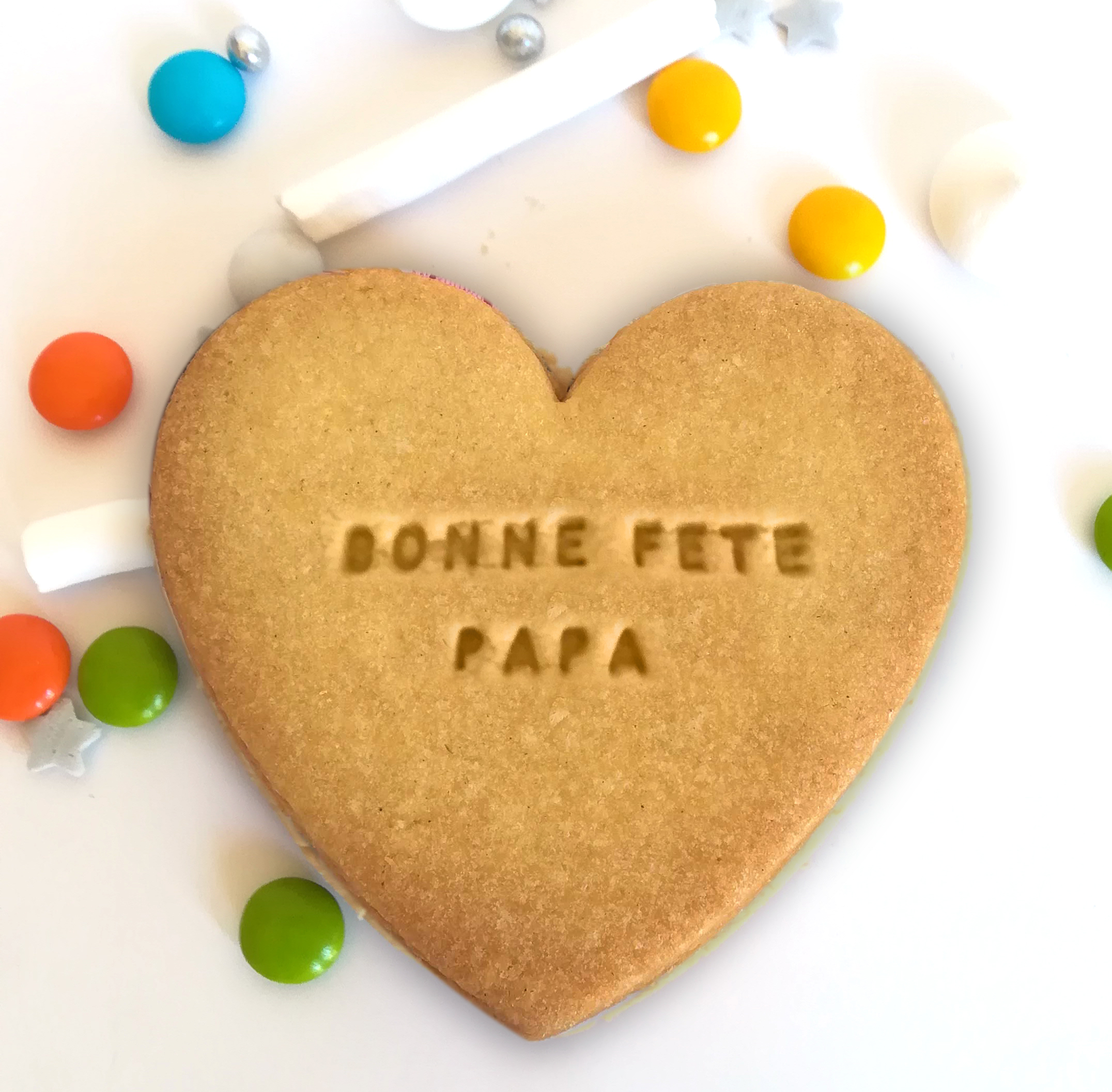 sable-biscuit-coeur-fete-pere