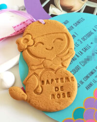 Faire-part biscuit fantaisie