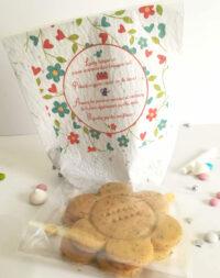 Sachet à planter et biscuits personnalisés aux graines