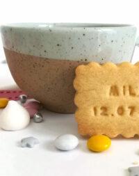 """Mini-biscuits personnalisé """"Pause café"""""""