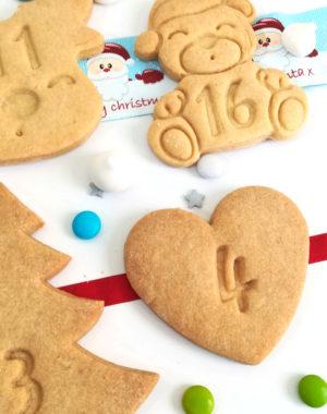 Calendrier de l'avent biscuit (édition 2020) – FRAIS DE PORT OFFERT