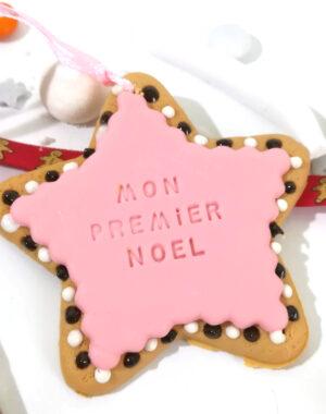 Etoile de Noël rose (2 gravures au choix)
