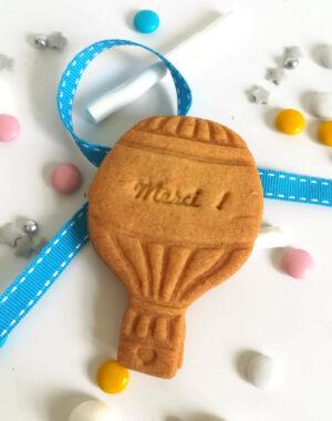 Biscuit personnalisé Montgolfière