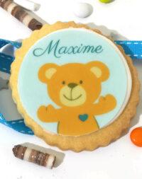 "Biscuit personnalisé ""baby shower"""