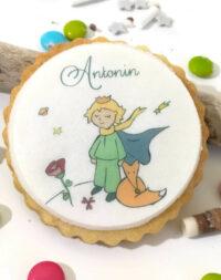 """Biscuit personnalisé thème """"Le Petit Prince"""""""