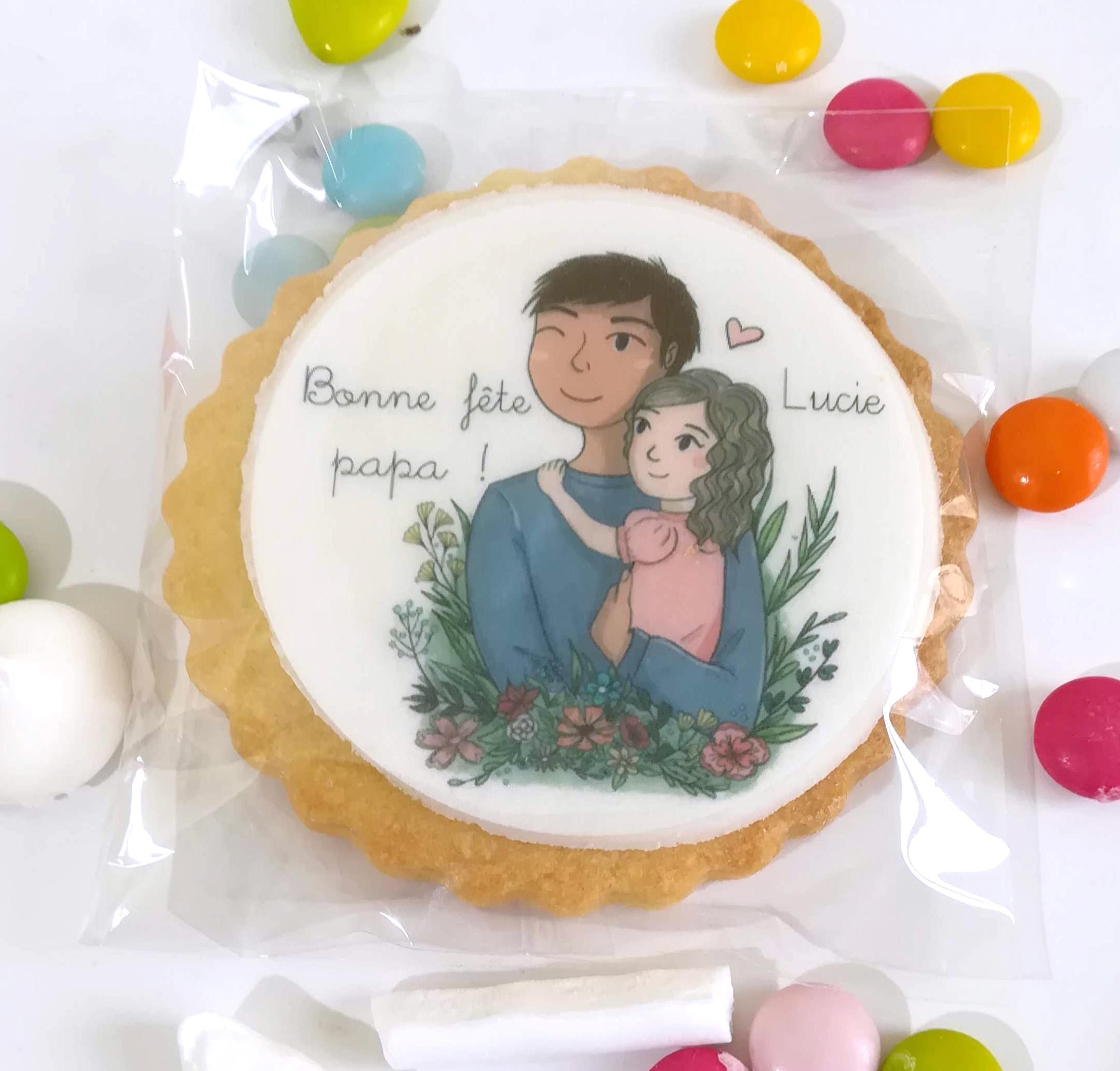 biscuit-decore-personnalise-fete-pere-fille
