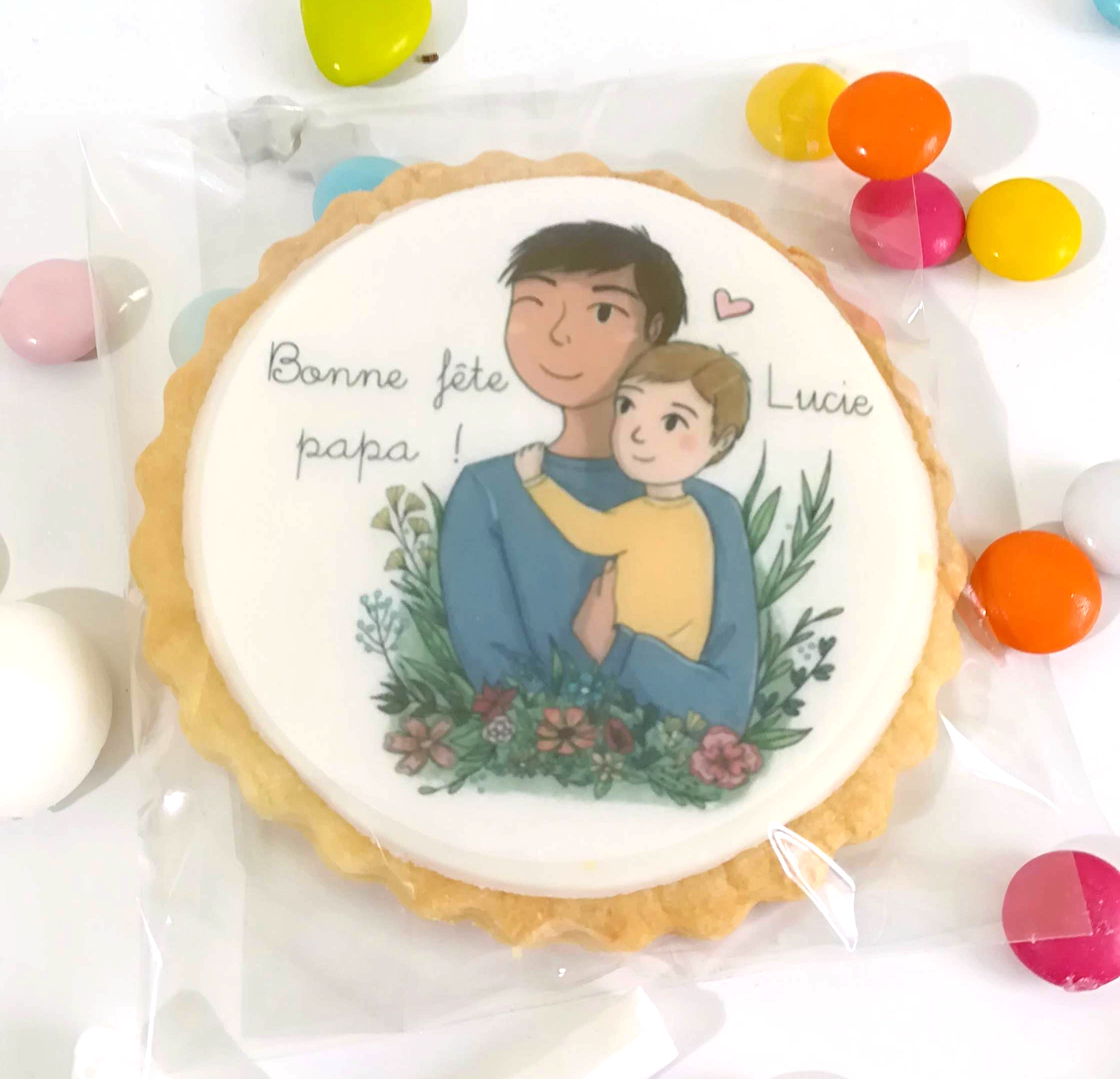 biscuit-personnalise-fete-pere