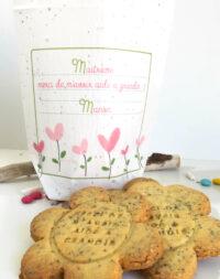 Maitresse et Atsem : Biscuits aux graines avec sachet à planter