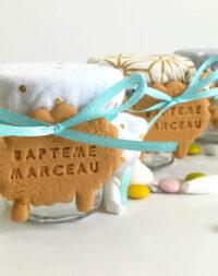 """Petit pot de dragées """"Mouton/Petit Prince"""""""