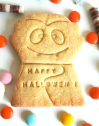 """Biscuit sablé personnalisé """"Vampire d'Halloween"""""""